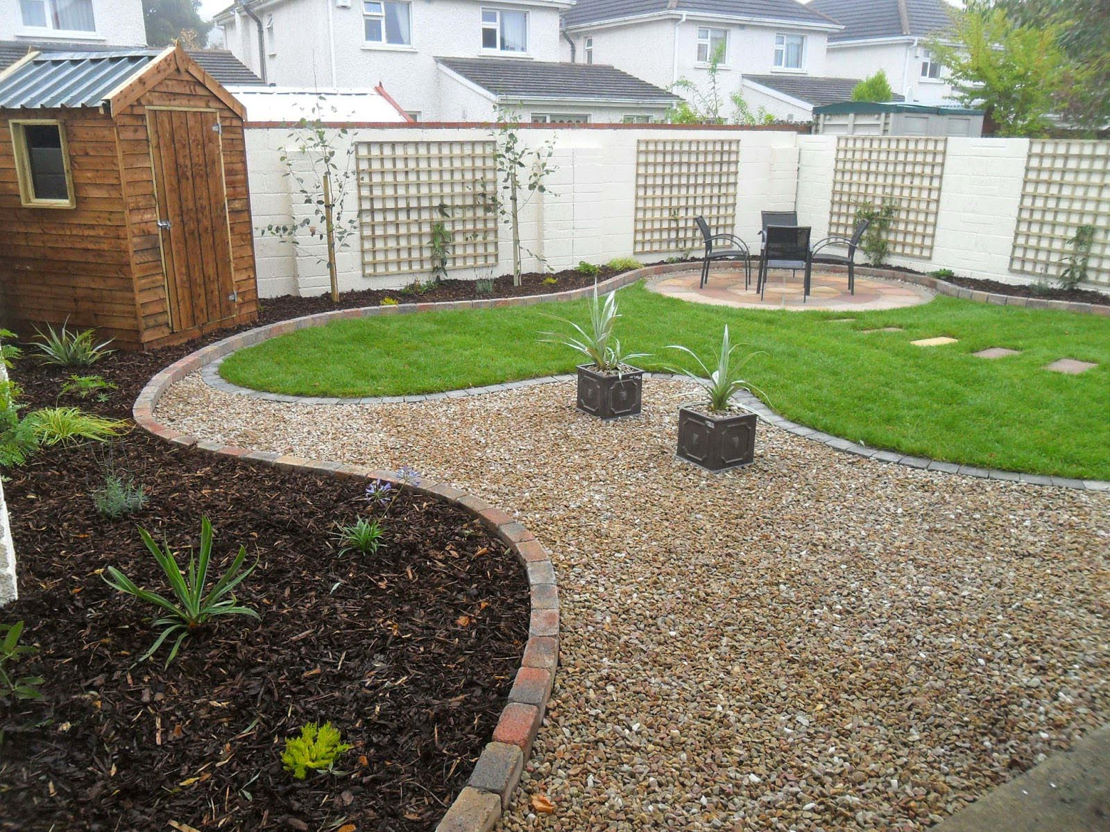 Low Maintenance Gravel Garden Designs