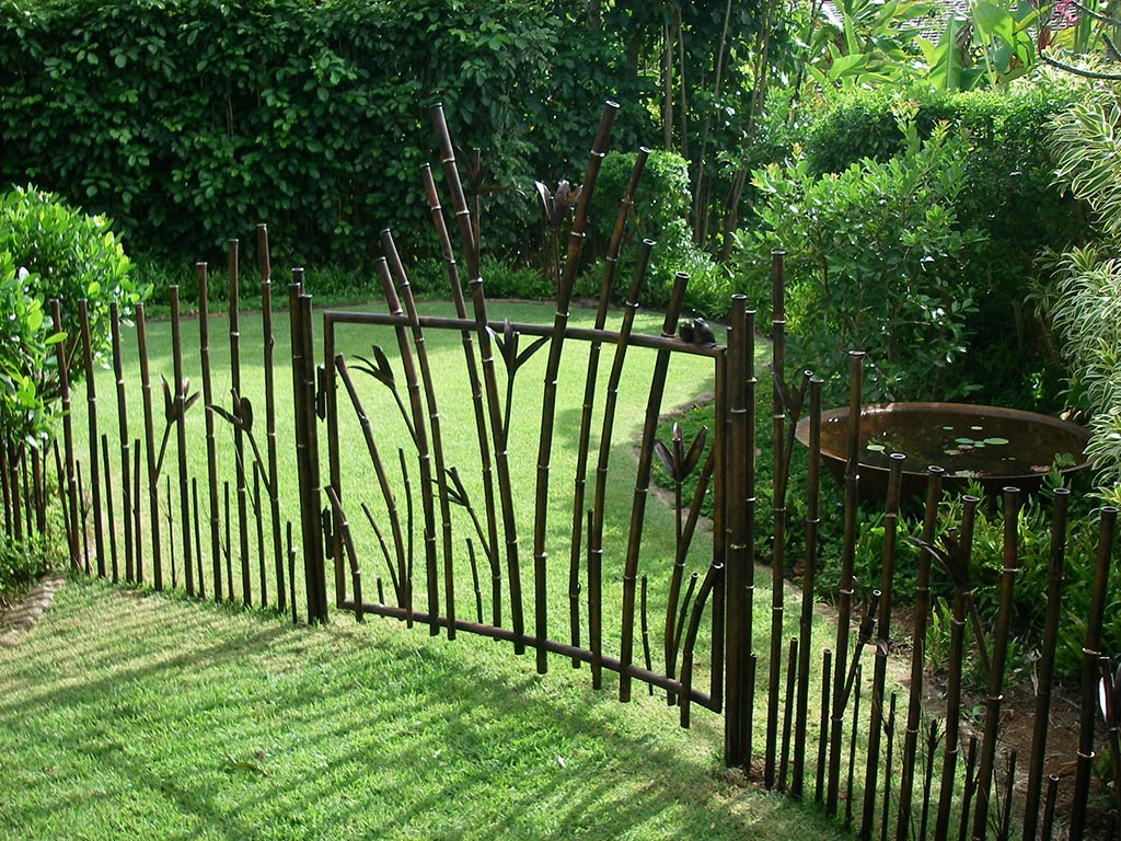 Metal Fences for Gardens
