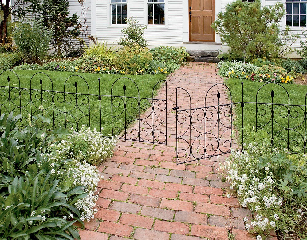 Metal Garden Edging Fence
