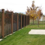 Metal Garden Fence Posts