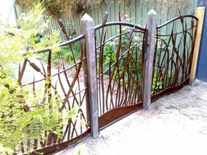 Metal Garden Fencing Decorative