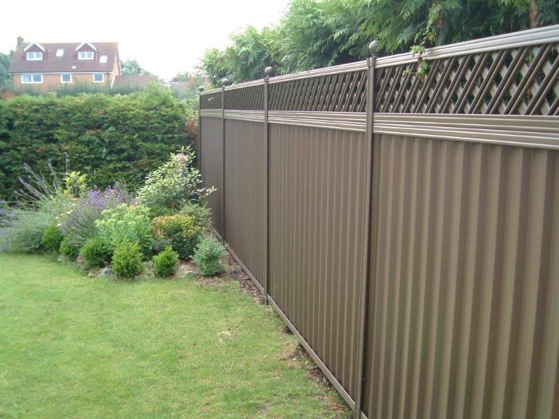 Metal Garden Fencing Panels
