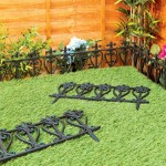Plastic Garden Border Fence