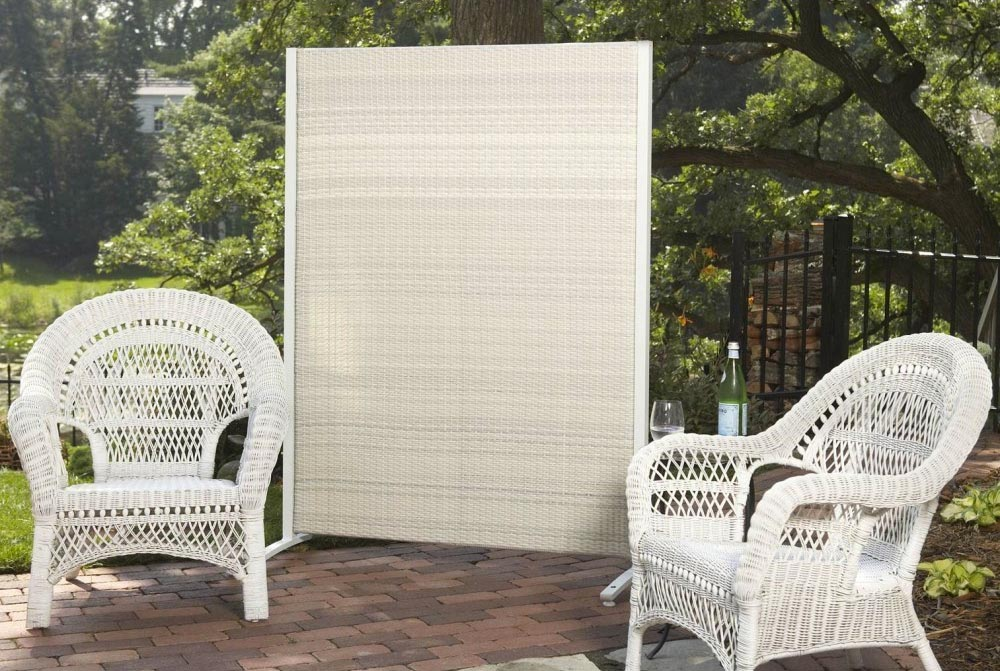 portable garden privacy screen garden design ideas