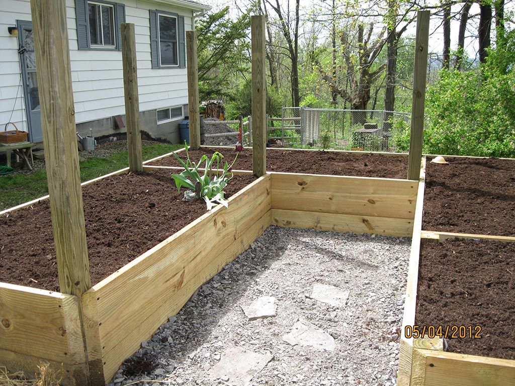 Raised Bed Vegetable Garden Planting Layout