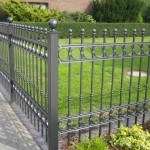 Short Metal Garden Fencing
