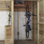 Small Garden Bike Shed