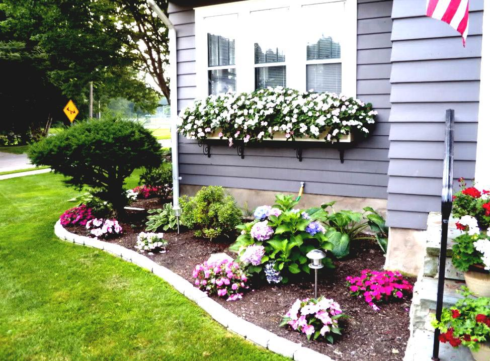Small Garden Ideas for Front Yard