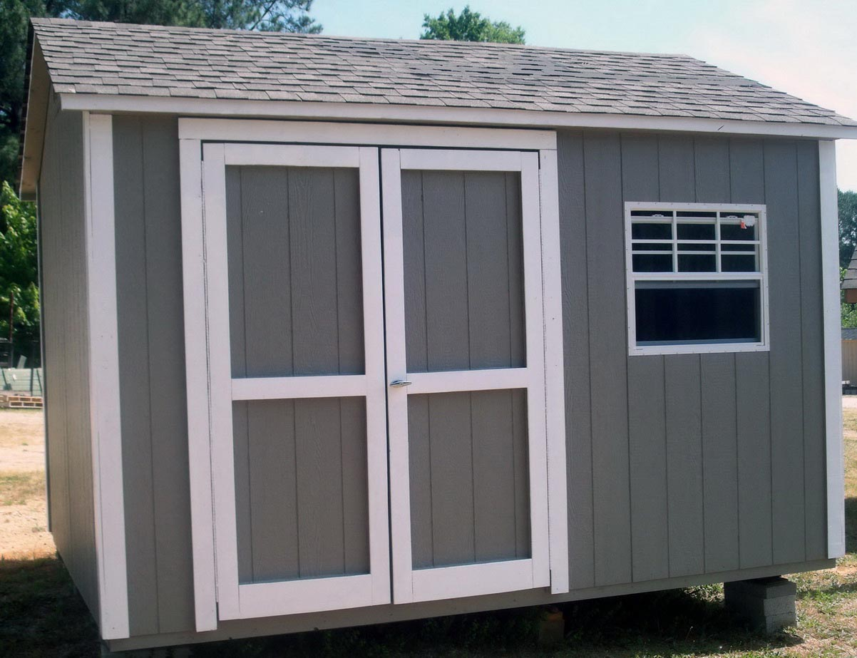 Small Garden Shed with Window