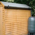 Small Guttering for Garden Shed