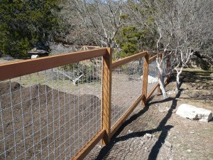 Welded Wire Garden Fence