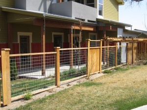 Wire Garden Fence Panels