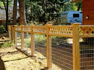 Wire Garden Fencing Ideas