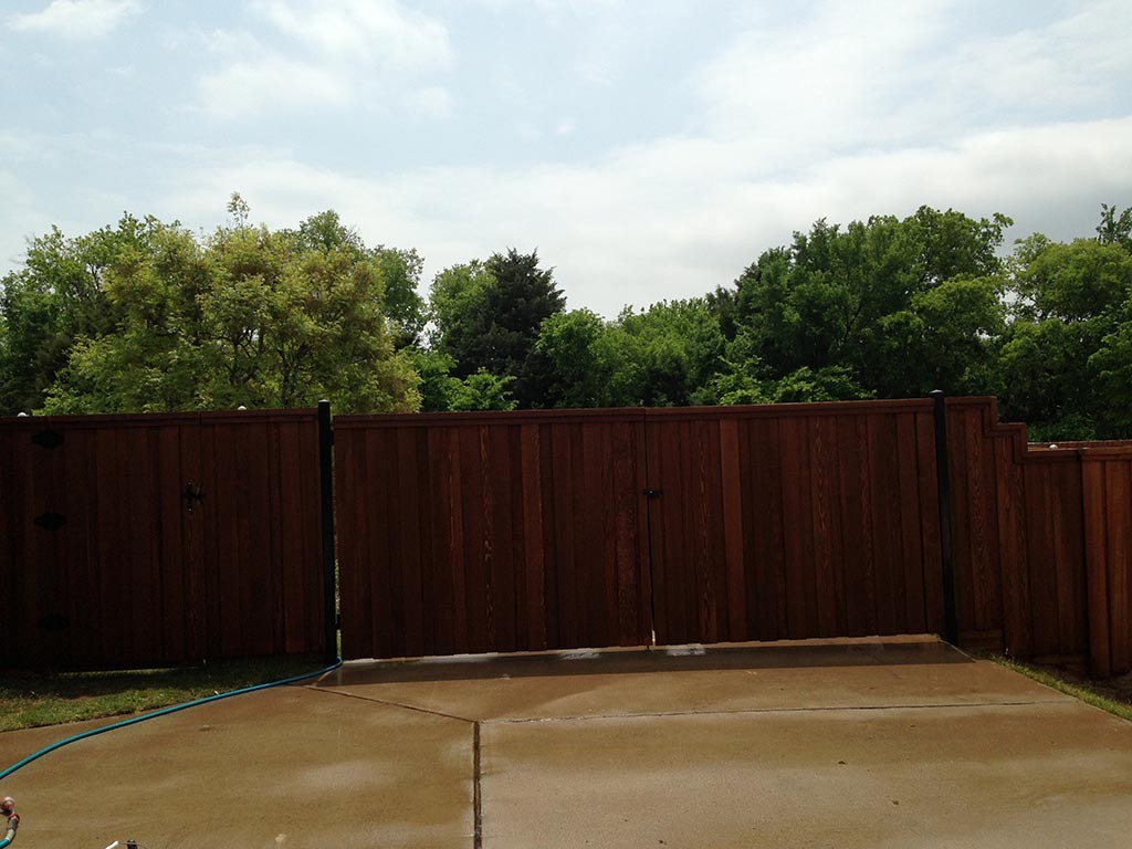 Wood Stain for Garden Fences