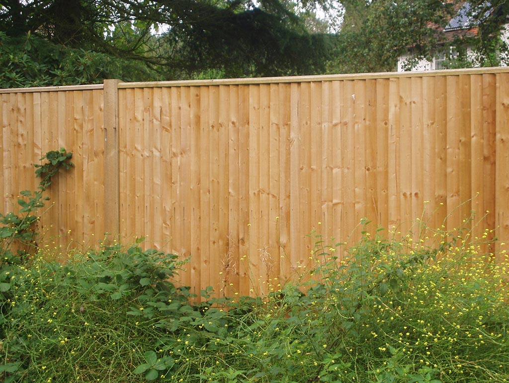 Wooden Garden Fencing Panels