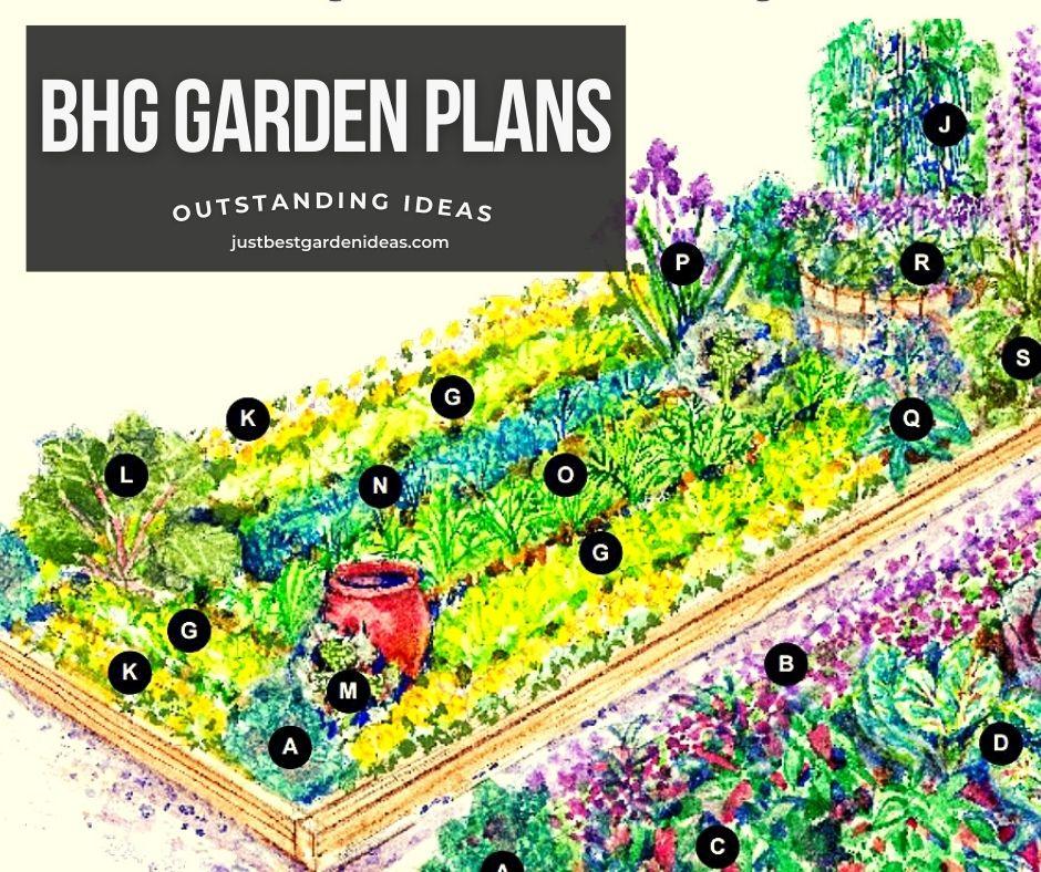 BHG Garden Plans Outstanding Ideas