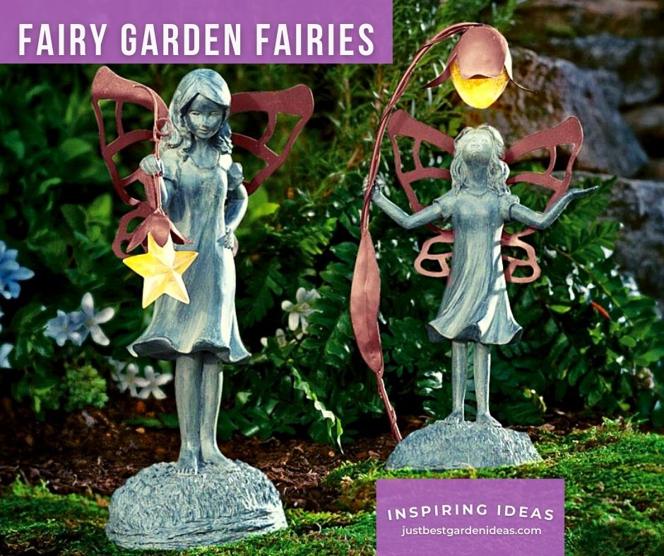 More Comfort with Fairy Garden Fairies