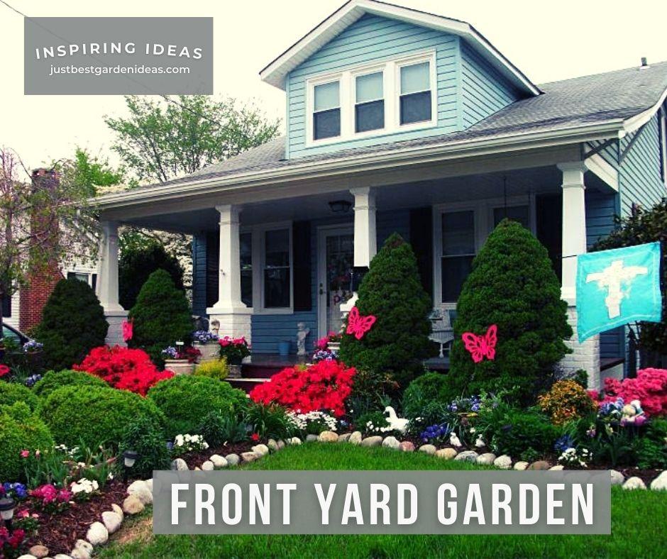 Original Front Yard Garden