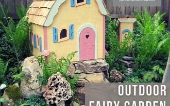Outdoor Fairy Garden Ideas for You