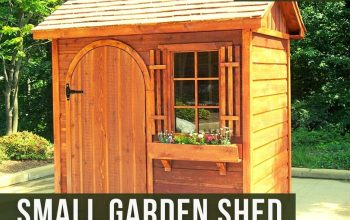 Small Garden Shed will Impress Everyone