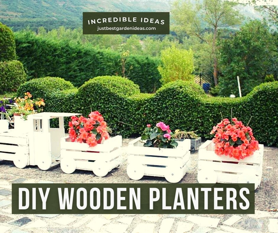 Some Wonderful Diy Wooden Planters